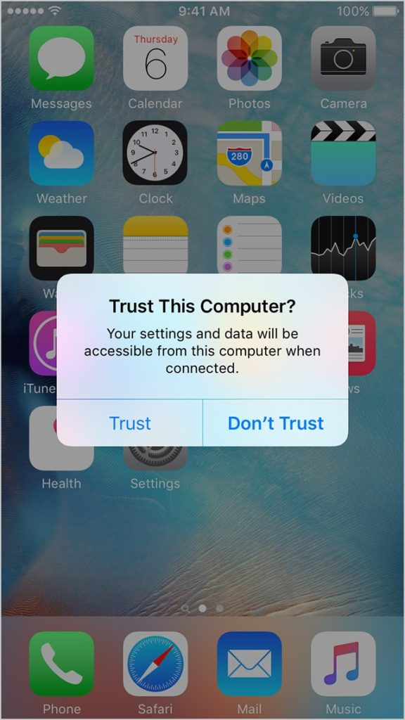Computer Not Recognizing iPhone