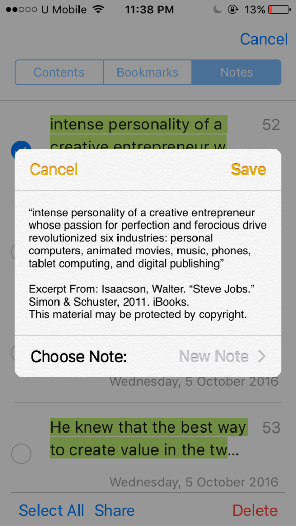 7 Ways to Save Notes and Highlights from iBooks (Fast & Simple) - Saint
