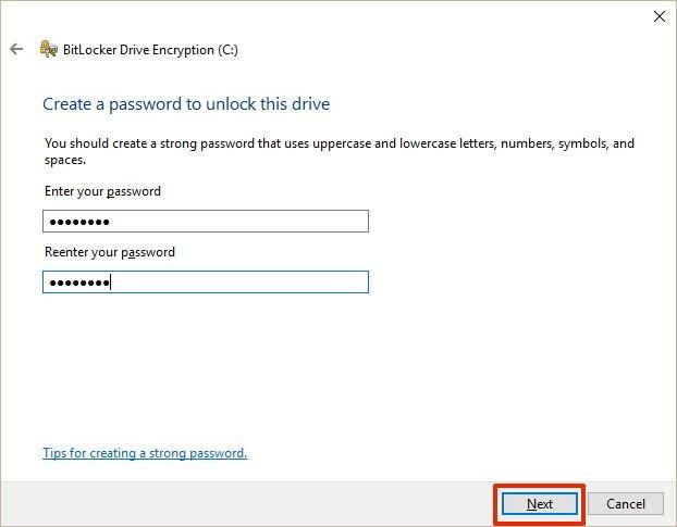 hack bitlocker windows 7