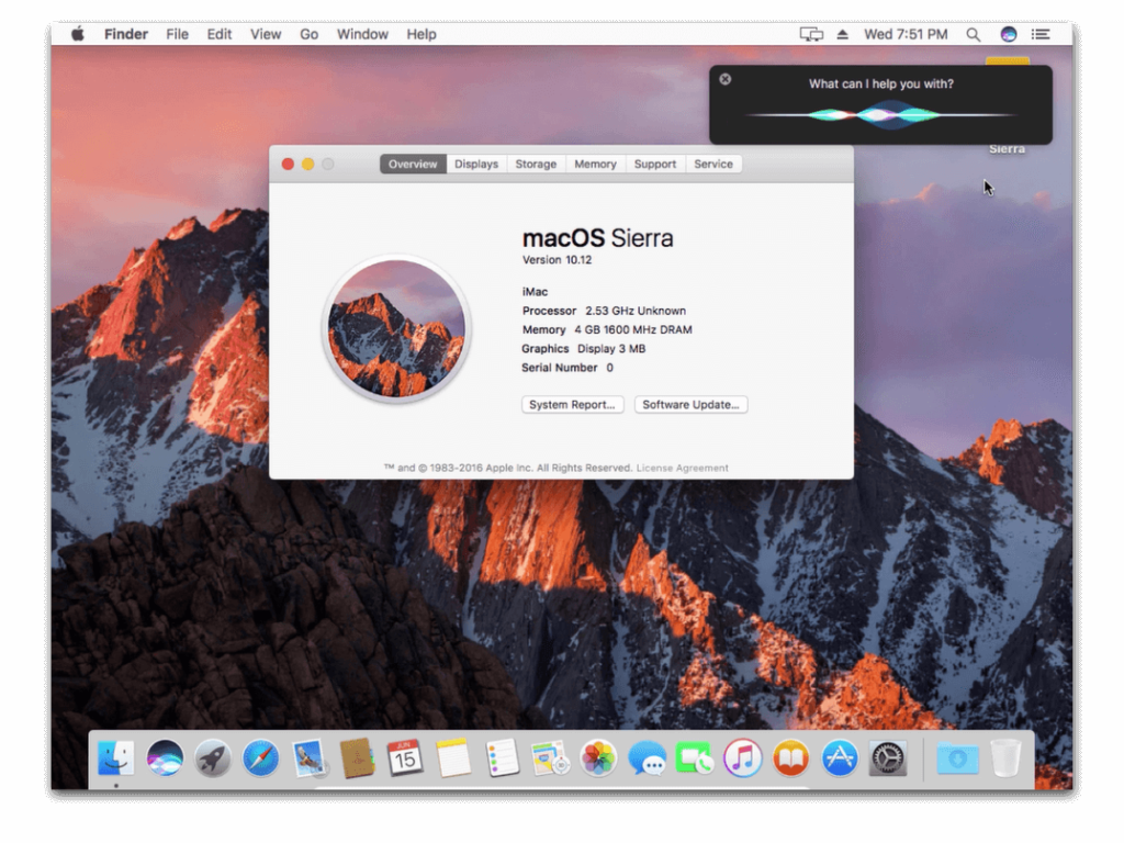Installer macOS Sierra dans VirtualBox sous Windows 10
