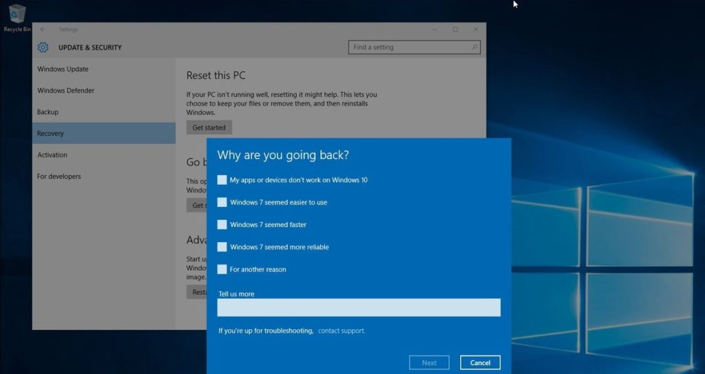 5 Ways to Downgrade from Windows 10 (Fast & Simple) - Saint