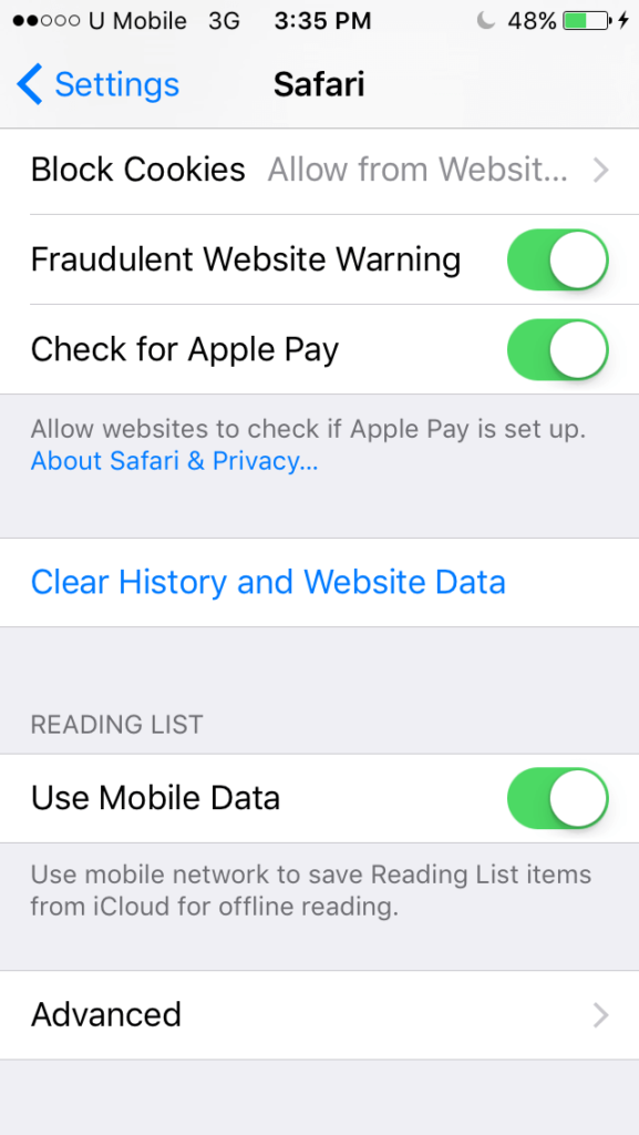 Make Safari Save Passwords on iPhone