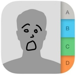 restore contacts app