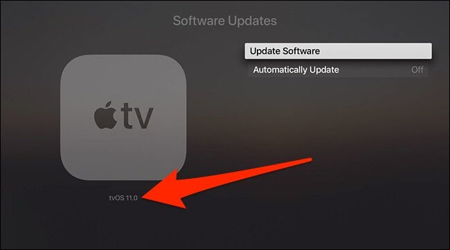 update apple tv to tvos 11