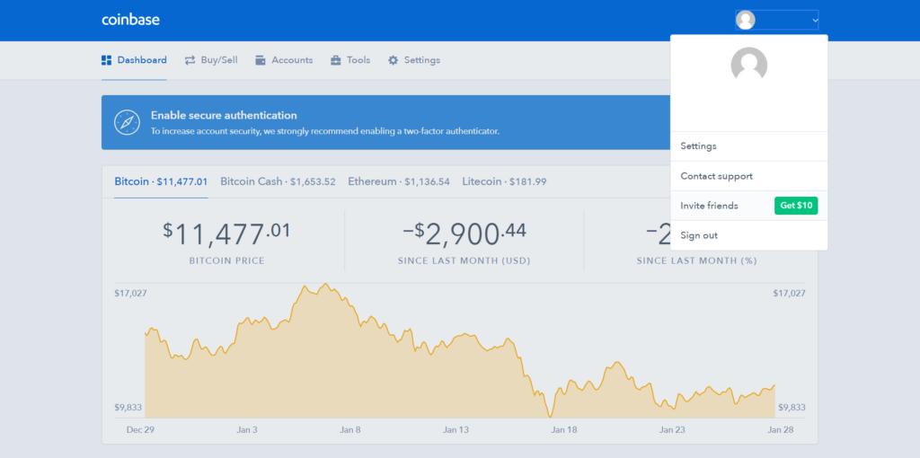 coinbase referral