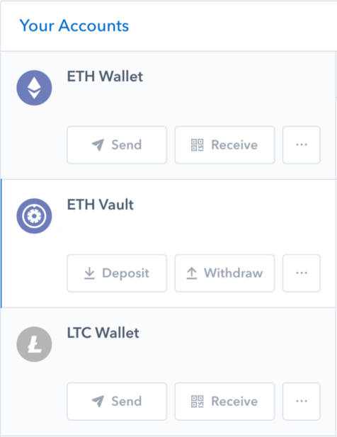 When Will Coinbase Use Eth In Its Vault How To Export Bitcoin Cash -