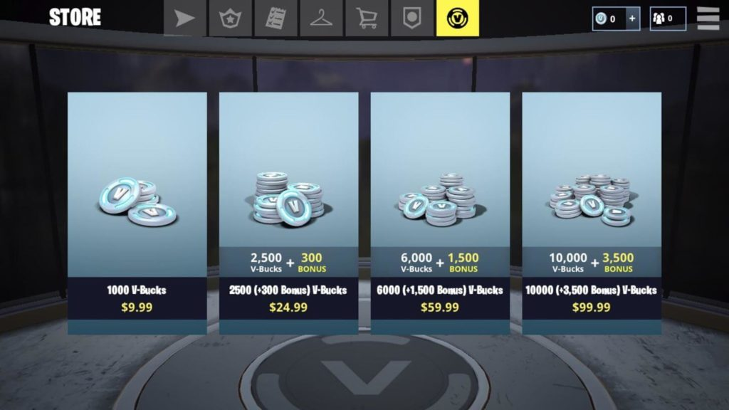 get free V-Bucks in Fortnite