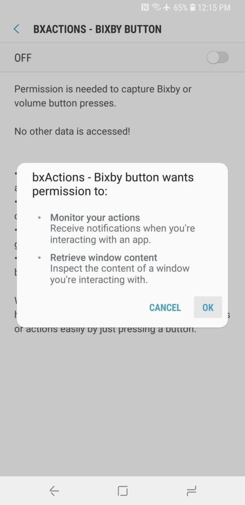 remap bixby button on Galaxy S9