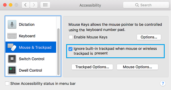 mouse or trackpad cursor moves randomly in macos os x