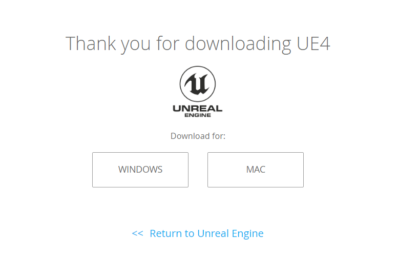 download unreal engine