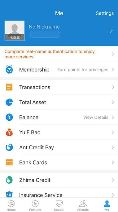 Use Alipay Without a Chinese Bank