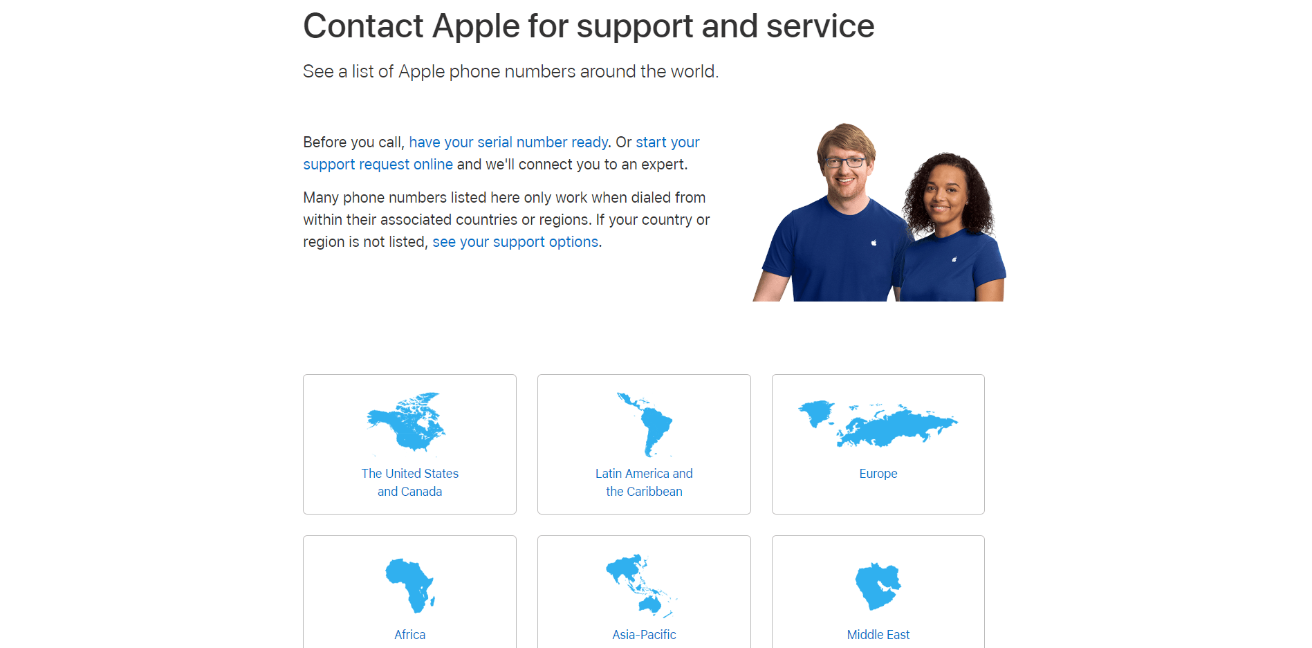 Apple Support and Service
