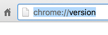 chrome://version