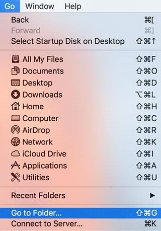 Finder on Mac