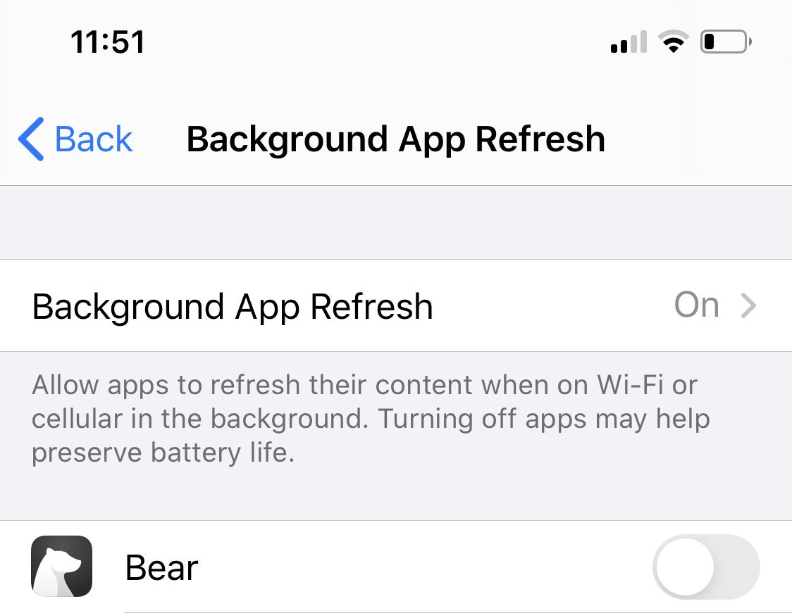 iOS 13 Slow