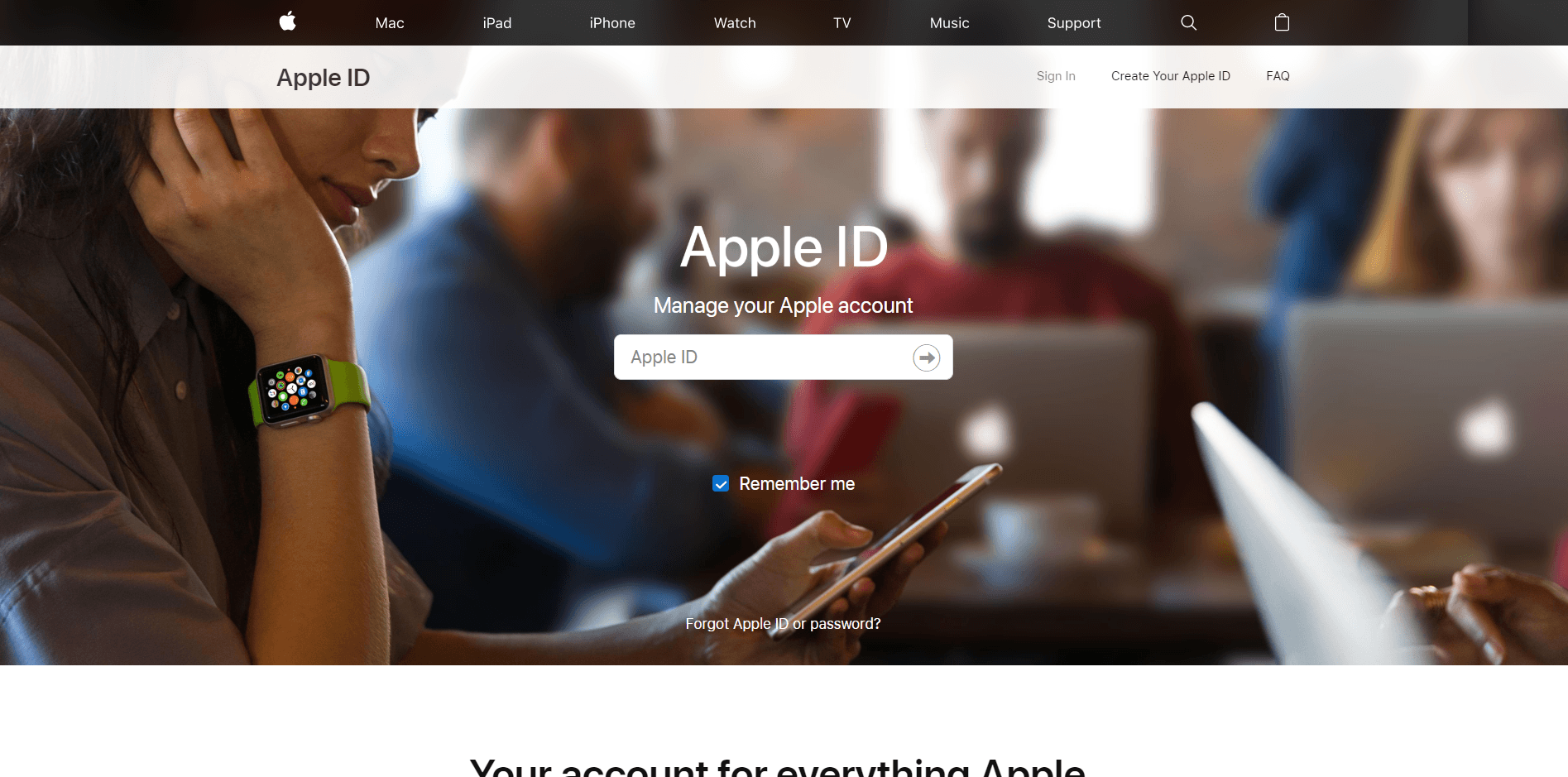 Change Apple ID Saint