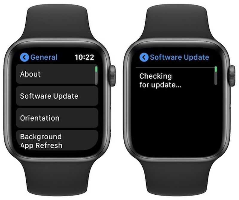 Updating Apple Watch