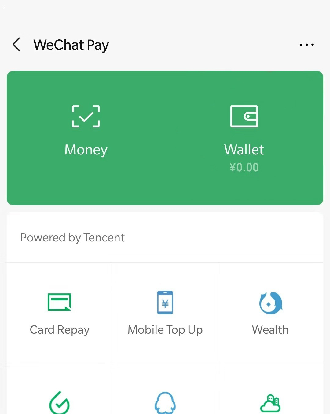use wechat pay without a chinese bank