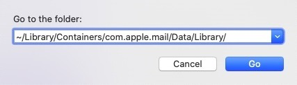 mail not working in macos catalina