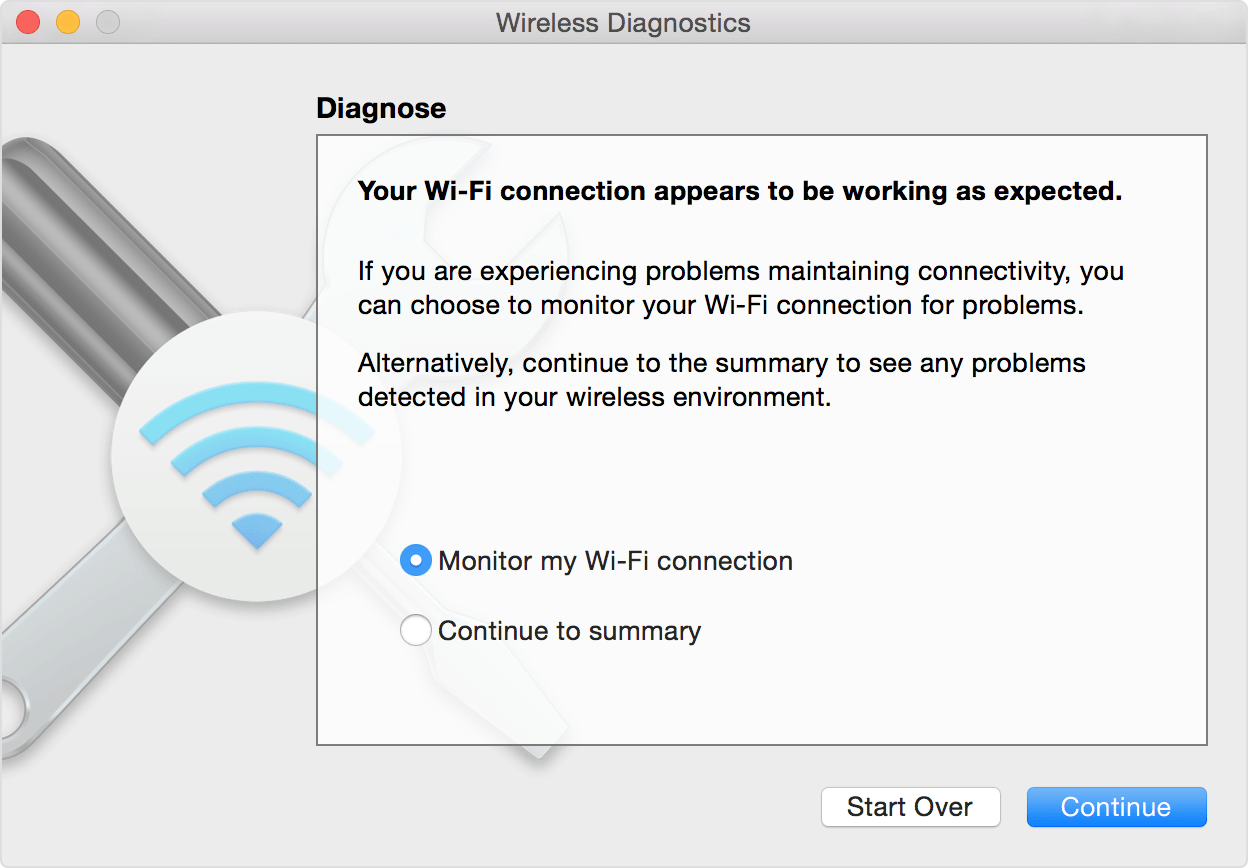 Wireless Diagnostics