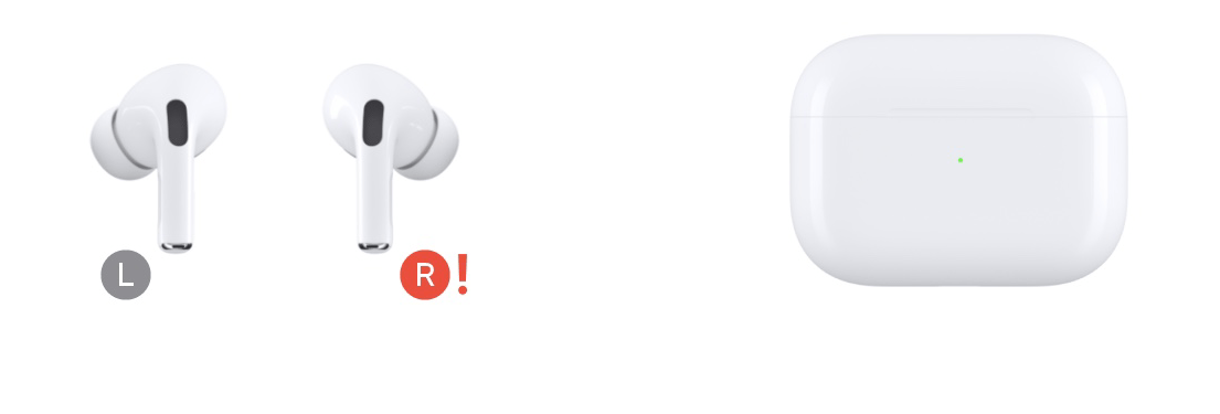 Red Exclamation Point Errors on AirPods Pro