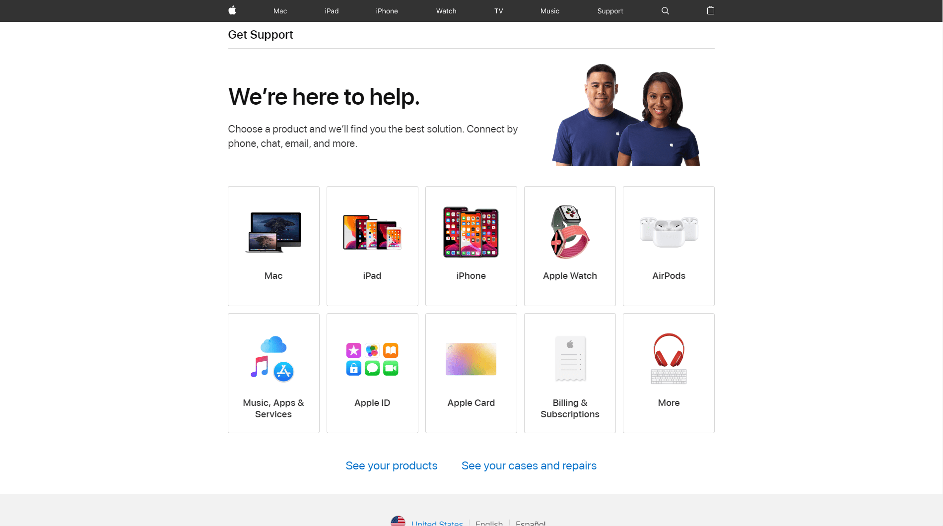 Apple Repair Support