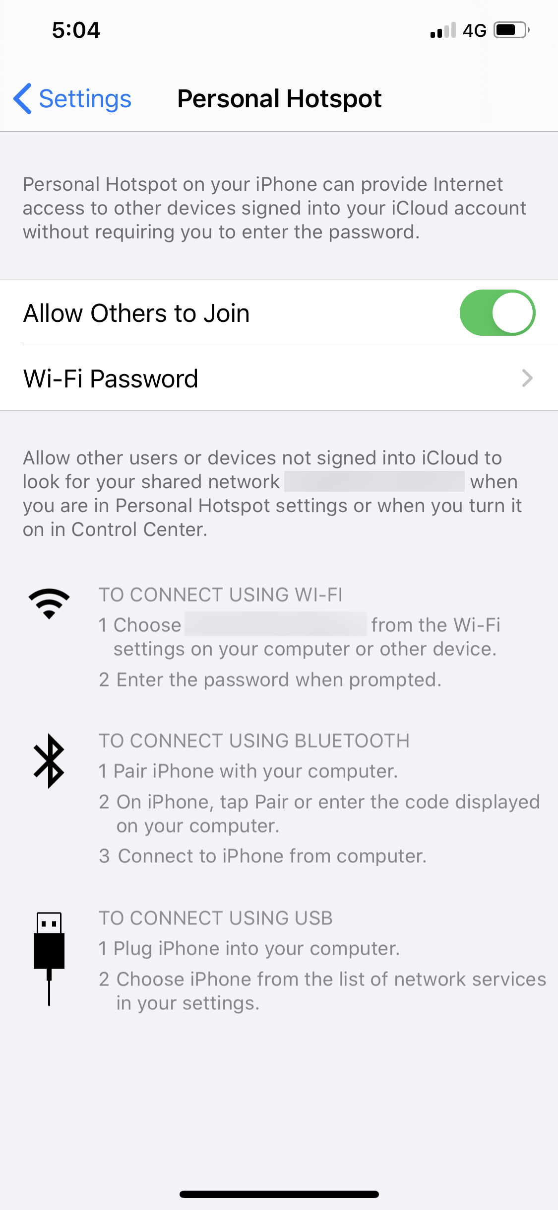 personal hotspot issues in ios 13