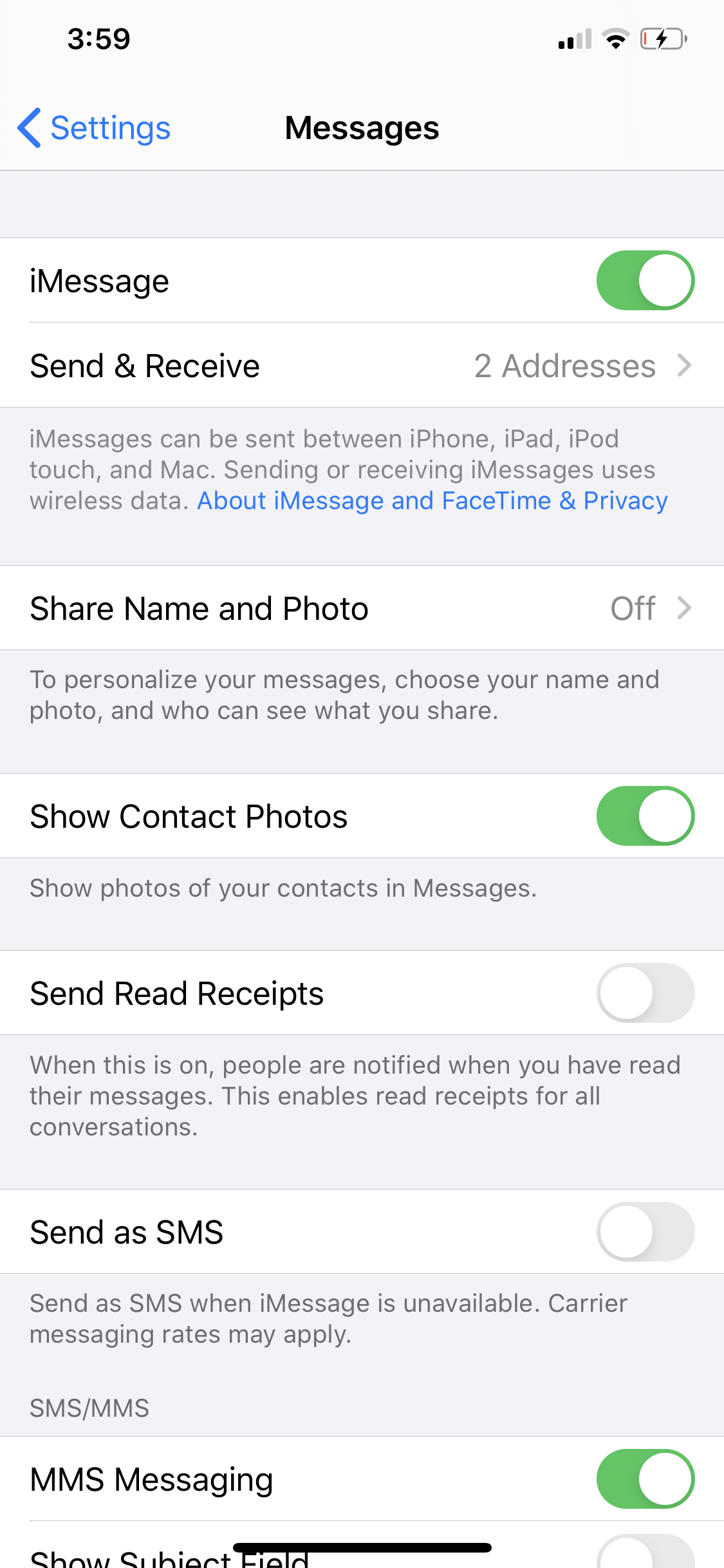 remove contacts in iOS 13 share sheet