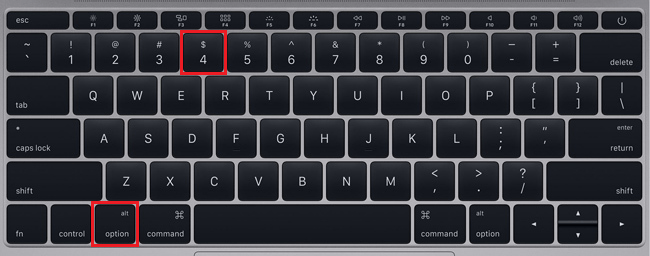 type cent symbol on mac
