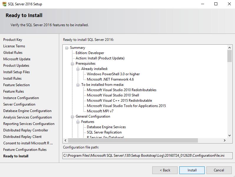 upgrade SQL Server 2008 to 2016