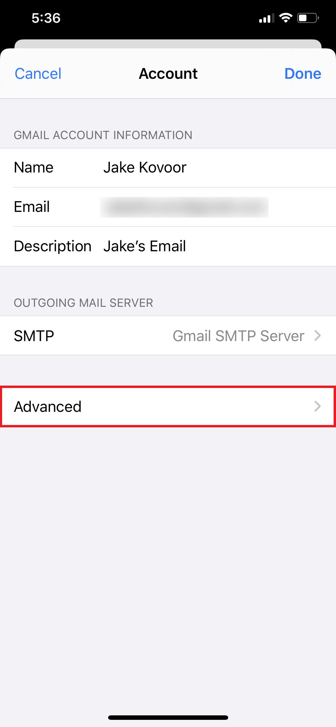 can't delete trash folder on iOS 13