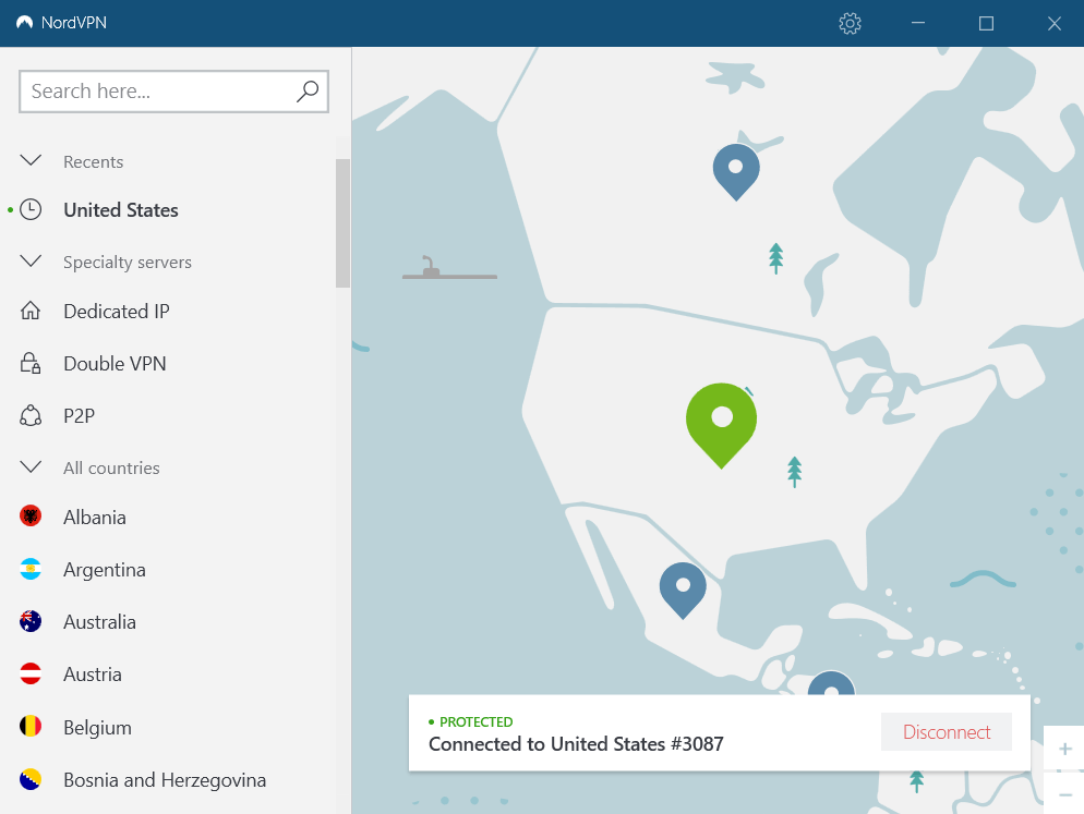 Turning Off VPN (NordVPN)