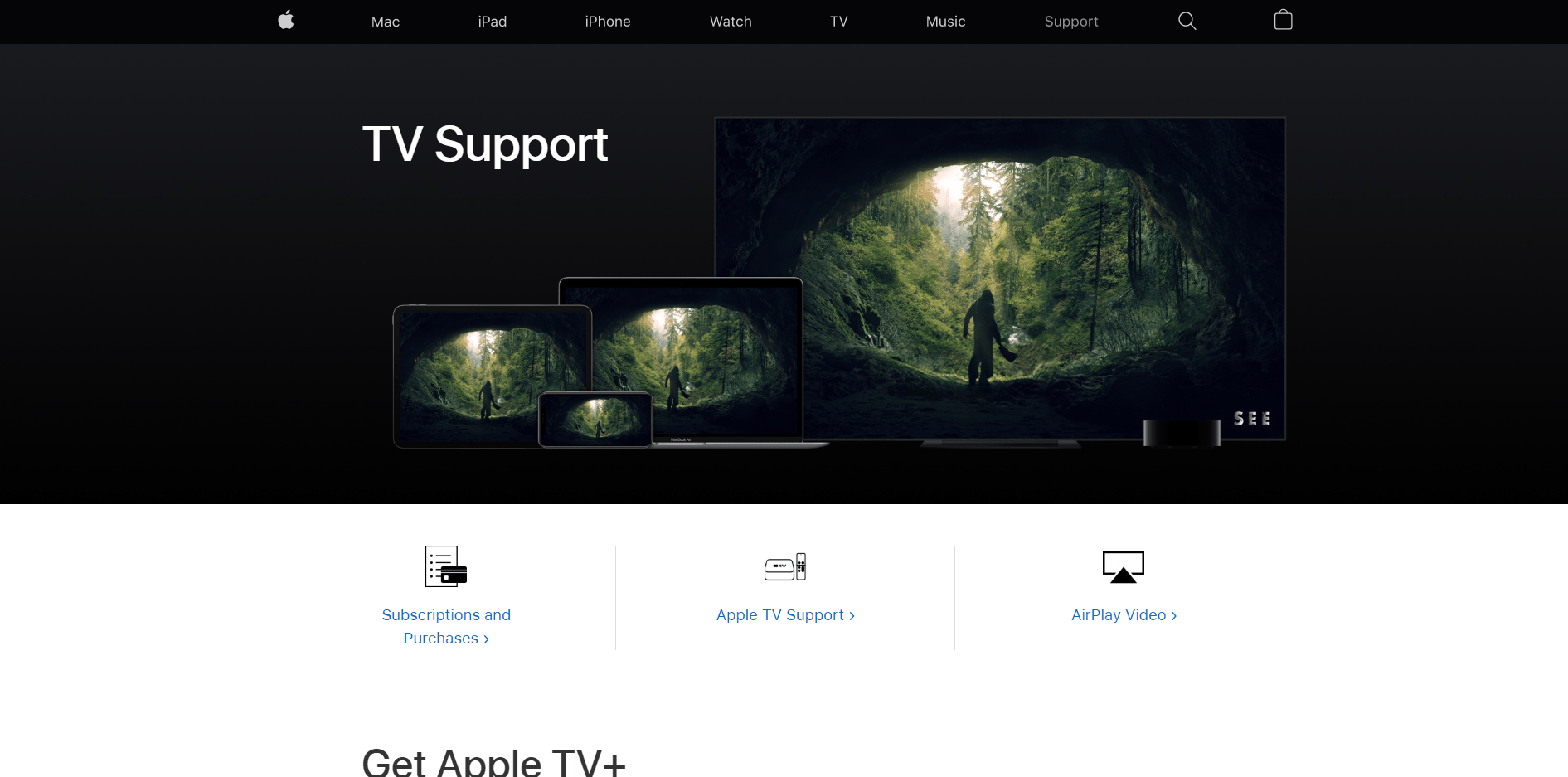 Apple TV Support