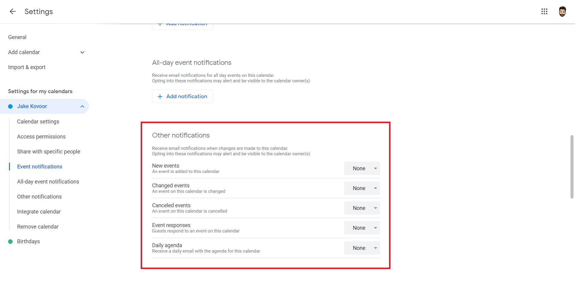 Mail app opens randomly