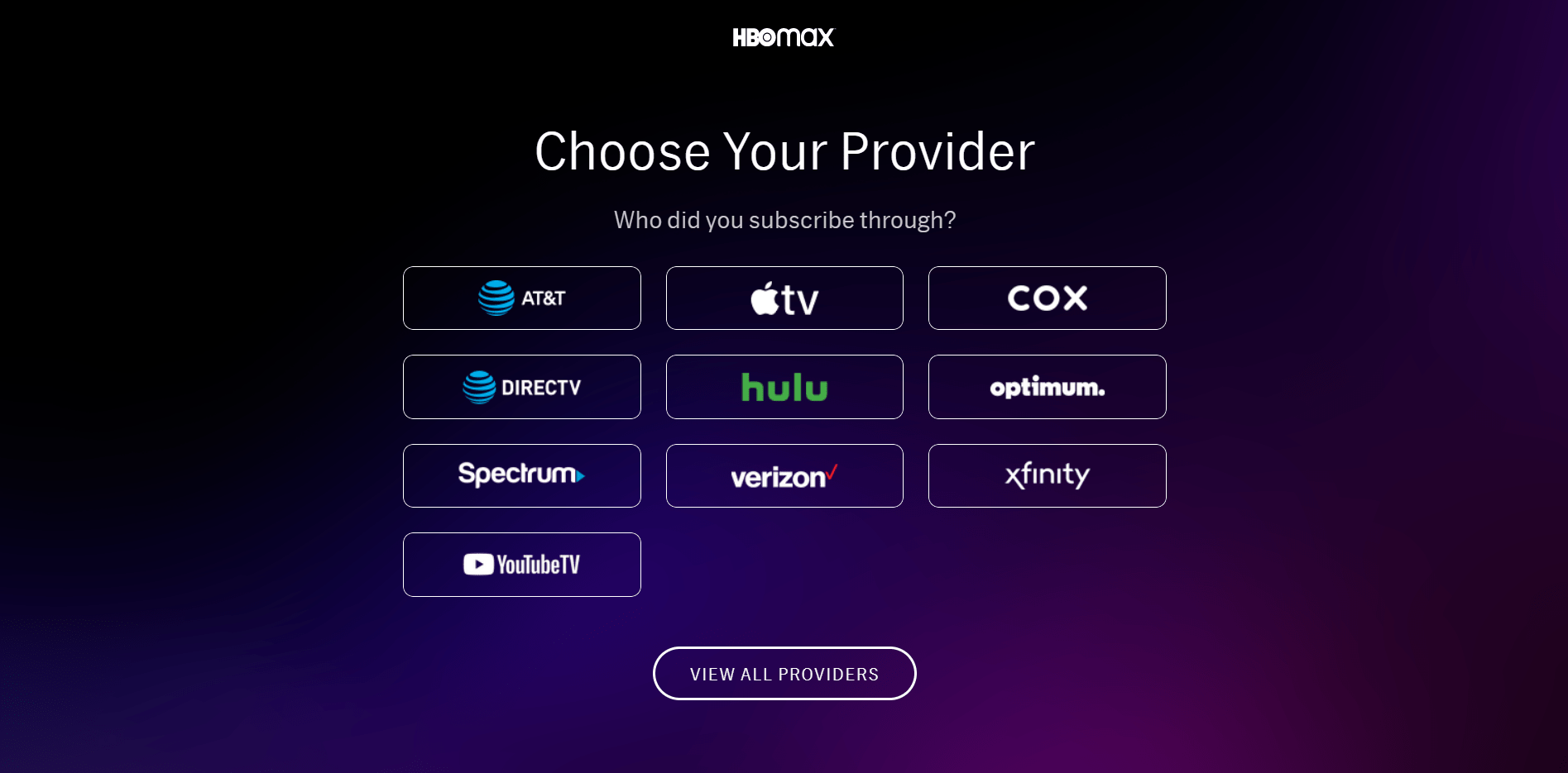 can't sign into HBO Max account