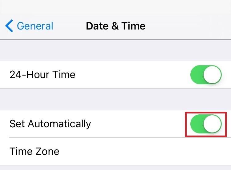 iPhone alarm clock not working