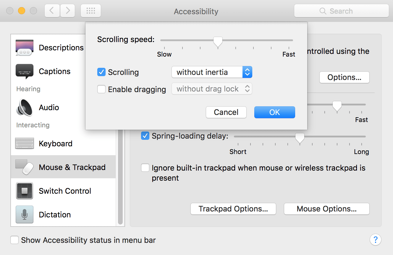Magic Mouse Not Scrolling Issue