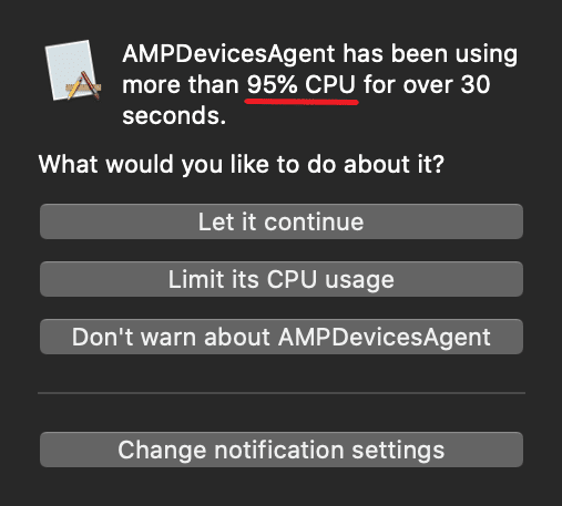 ampdevicesagent what is it