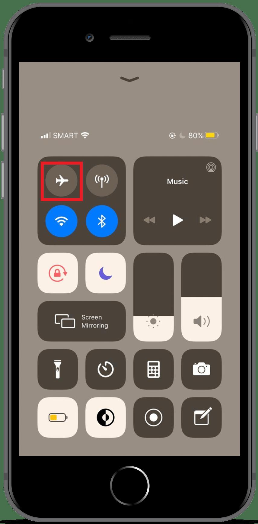 Call Failed on iPhone