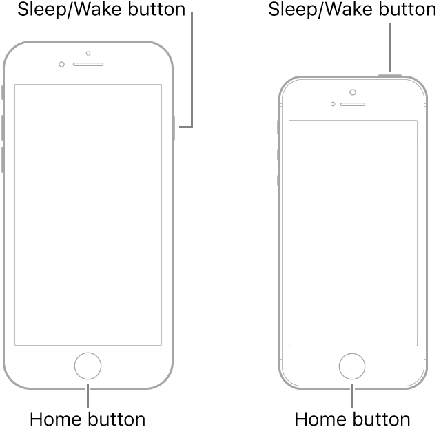 difference between restart and force restart on iphone