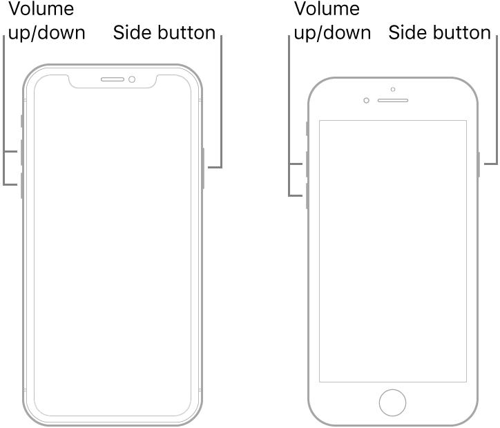 iphone 8 force restart