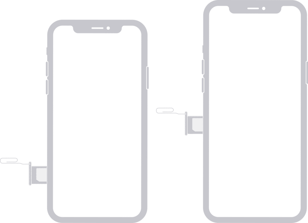 remove and re-insert SIM card